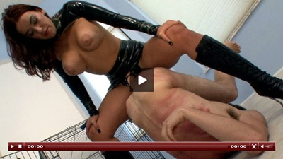 clubdom megan using a strapon dick on a helpless bitch